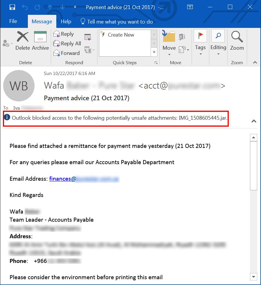 [ALERT] Zombie Remote Access Phishing Trojan Kills Antivirus