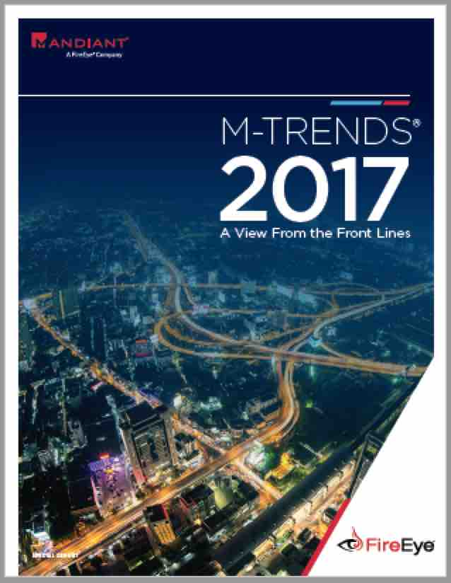 Mandiant M-Trends 2017: %22Cybercrime Skills Now On Par With Nation States%22