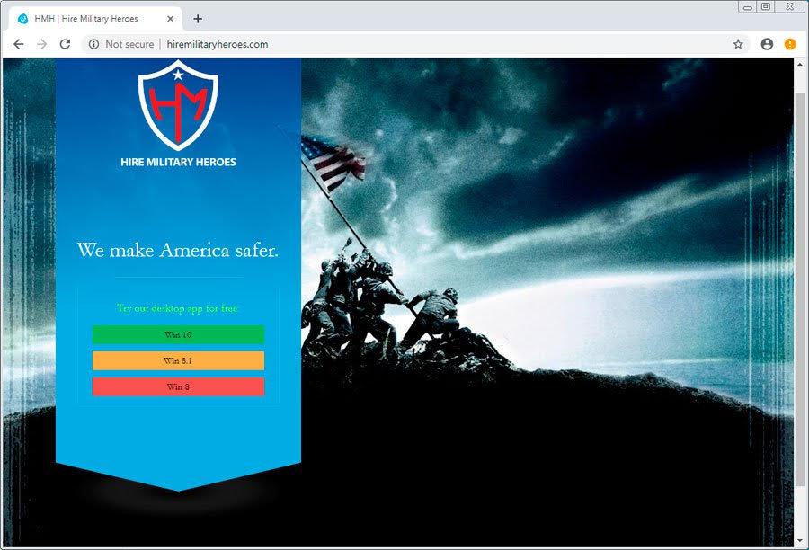 fake-veterans-website