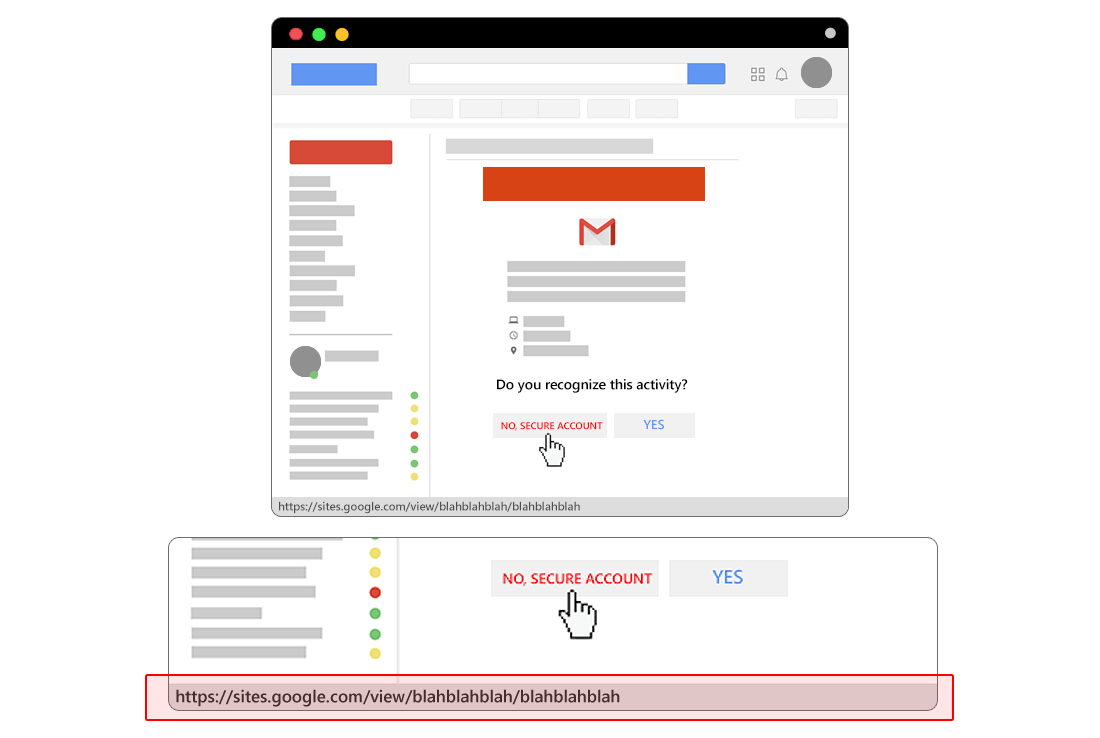 staged-phishing-link
