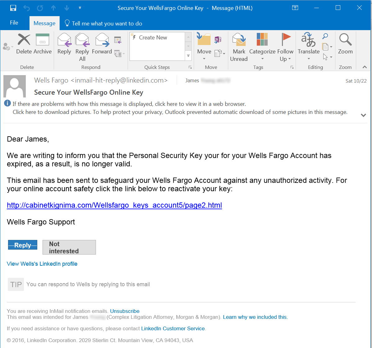 Yes That Email Is Really From Linkedin And Yes It S